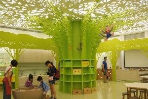 [台南親子好去處]奇美博物館小藝樹空間