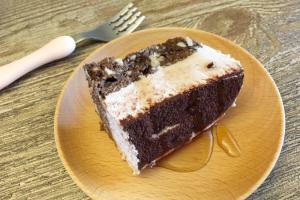 無糖蛋糕:布朗尼提拉米蘇 Unsweetened Brownie tiramisu