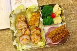 【便當日記】#13 急中生智法式吐司捲與抹茶蛋捲 Bento #13 French Toast Roll Ups & Matcha Biscuit roll