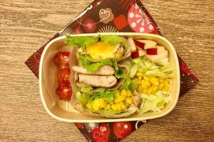 【便當日記】#38 迷你口袋餅Bento #38 Mini Pita