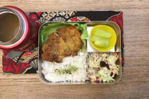 【便當日記】#71豬排飯Bento #71 Katsudon (Pork Cutlet Rice)