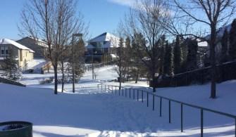 加拿大旅記。破紀錄的暴風雪