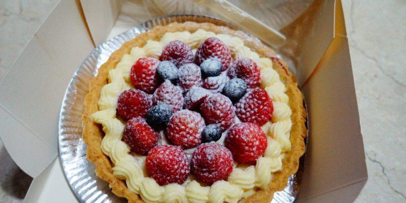【高雄*食記】真正的平價下午茶來了!!!亨利蛋糕.點心小舖 6吋草莓塔 $250♥