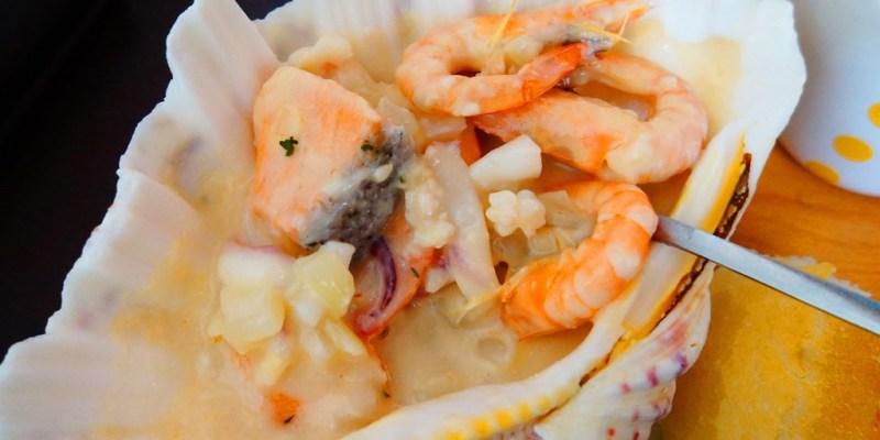 【食記*高雄】MERCI餐酒館 法式奶油漁夫鍋 蝦殼都剝好了 約會優雅不狼狽 ❤