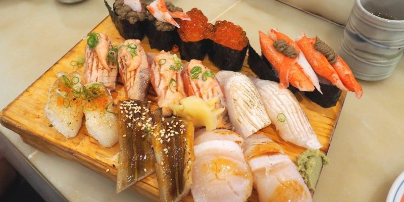 新北中和美食   板橋二男小家日本料理 壽司新鮮平價絕對是N訪店!!