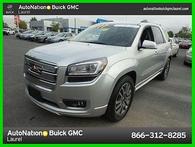 Gmc Acadia Vermont Cars for sale GMC   Acadia Denali Certified 2013 denali used certified 3 6 l v 6 24 v  automatic all