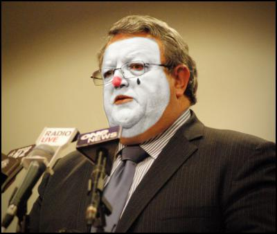 Gerry Brownlee, Clown