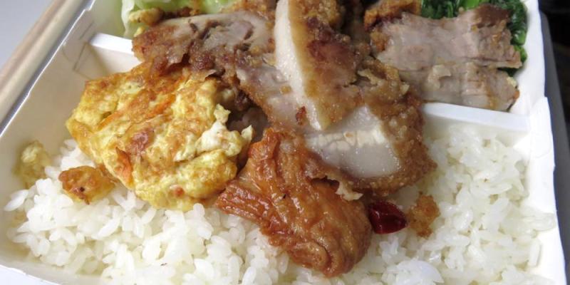 《花蓮》麗池飯包 源寶屋咖哩麵包 Li-chih meal box & curry bread