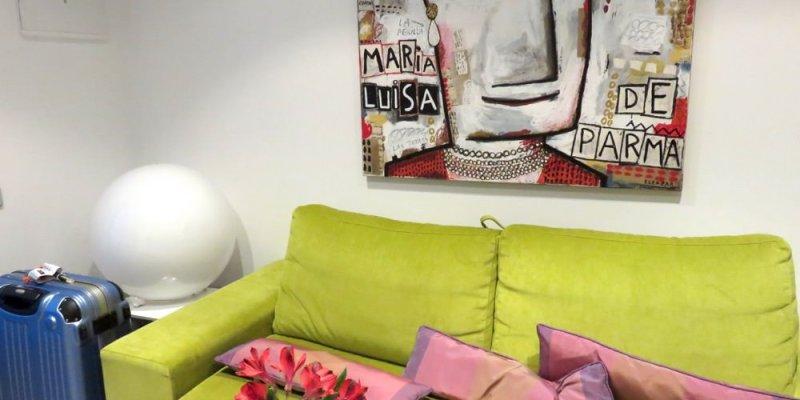 《西班牙馬德里》Apartamento Palacio Reina María Luisa 廚房打趴一堆公寓