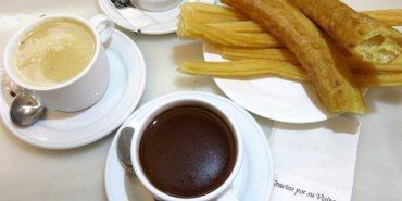 Madrid Chocolatería San Ginés 西班牙炸油條 正點