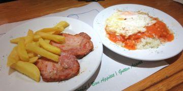 西班牙 Cafeteria Astoria 快餐店的熱食 無比療癒
