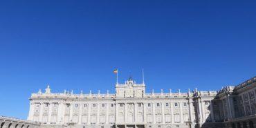 《西班牙Madrid》馬德里王宮與Starbucks的邂逅