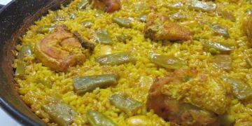 《西班牙瓦倫西亞》La Riua嚐西班牙傳統燉飯之最 兔肉海鮮