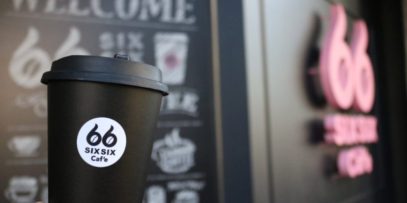 《台中》66 Cafe 義式咖啡外帶店 好喝熱拿鐵 台中公園
