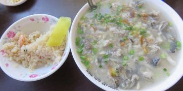 台南。阿堂鹹粥。包成羊肉。府城精彩海味重口早餐~偽台南人XD