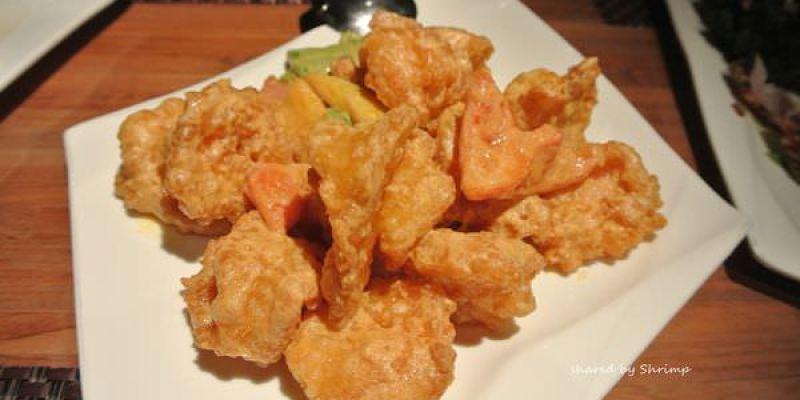 《台北》內湖 饕客 Foodies 中西合璧 推薦特色台菜金沙蝦仁