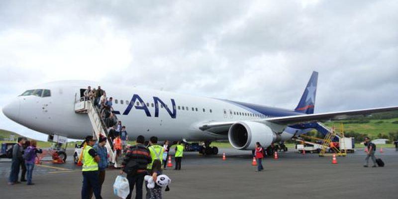 《南美》LAN航空。讓我們飛往智利復活島吧!!! 摩艾等我啊  (內有武功秘笈)