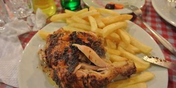 南美祕魯。庫斯科。LOS TOLDOS Chicken。當地頗有名氣的烤雞
