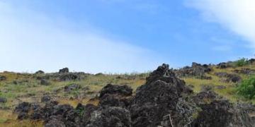 《南美》智利復活島。Ana Kakenga。西部海岸健行。冒險鐵腿水泡之旅