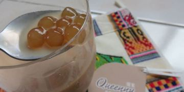 《台北》內湖。Queenny 葵米 珍珠飲品專售 tasty bubble tea