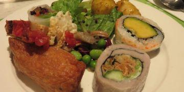 台北。果然匯 蔬食宴。蔬食的饗食天堂版