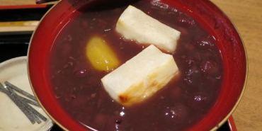 《日本》京都嵐山。老松 百年歷史和果子店 現烤年糕配甜滋滋紅豆湯 enjoy日本甜味