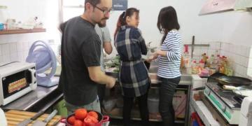 蝦說西語。Julian 墨西哥廚房 Mexican cooking class Tacos & Salsa