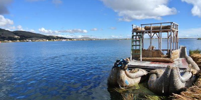 《南美》祕魯。普諾。蘆葦島。套裝一日。的的喀喀湖。part1 恍若天空之城