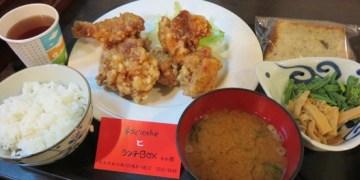 台北中山 食彩櫻 學生上班族的最愛 招牌香炸雞塊定食