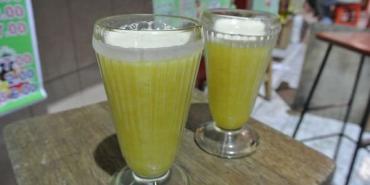 南美祕魯。阿雷基帕。市場風光。小木瓜汁?! 漫步在Arequipa part2