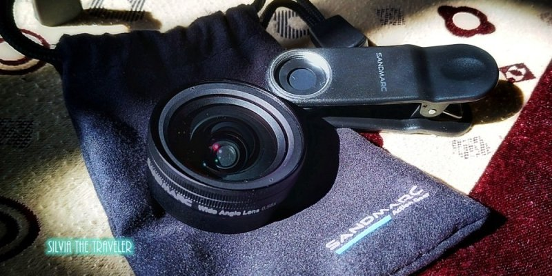 【旅行好物】旅遊輕鬆美拍就是要它─SANDMARC超廣角HD手機鏡頭