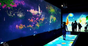 我們都是璀璨星河裡的一粒塵 x teamLab:舞動!藝術展 & 學習!未來の遊園地 in 華山