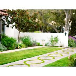 Small Crop Of Garden Landscape Photos