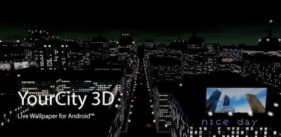 Featured Play Store Review: YourCity 3D [Live Wallpaper]