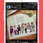 Tiles Instagram Lock Screen 4