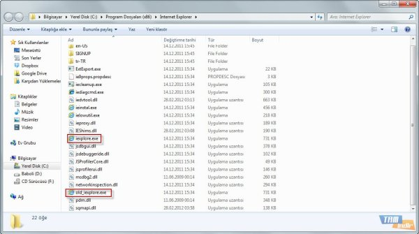Internet Explorer V9 Kaldırma 2