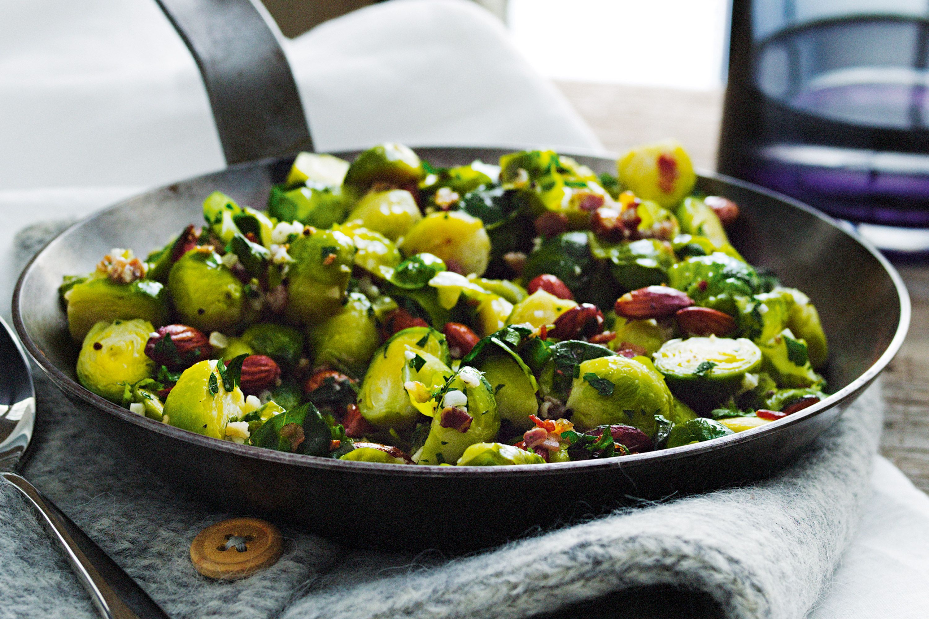 Cordial Bacon Almonds 76682 1 Deep Fried Brussel Sprouts Keto Deep Fried Brussel Sprouts Balsamic Pan Fried Brussels Sprouts nice food Deep Fried Brussel Sprouts
