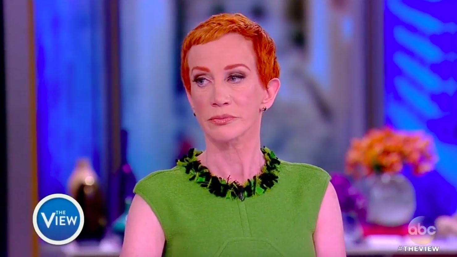 Kathy Griffin Takes Back Trump Apology on  The View    F ck Him