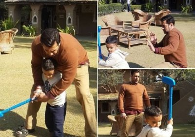 Salman Khan playing with a kid in these throwback pics from Bajrangi Bhaijaan is the cutest ...