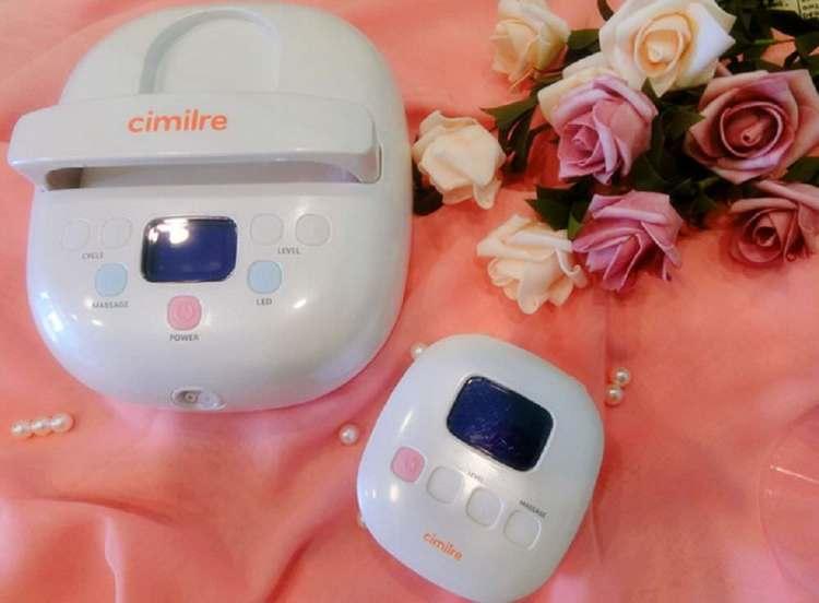 【親子育兒】❤ 韓國 新貝樂 cimilre F1 &S3 集乳器 、輕鬆擠奶絕非難事