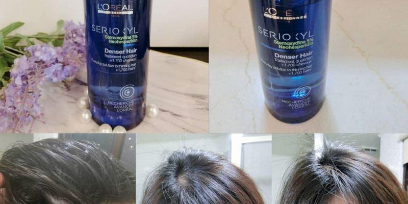 【生髮救星】 LOREAL萊雅  絲芮雅活力啟動精粹 專業級沙龍精粹養髮液 讓你擁有濃密的髮感