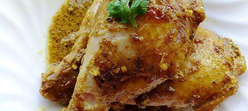 [食譜] 印度優格烤雞腿做法(薑汁優格烤雞)