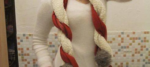 [穿搭] 圍巾變身術~兩條一起打!