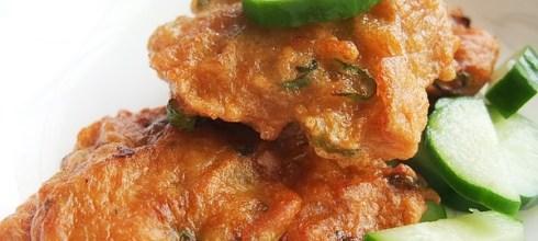 泰式煎魚餅做法(咖哩魚餅)