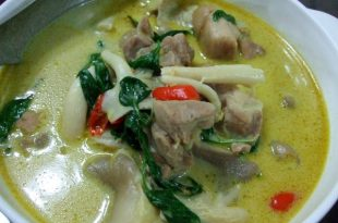 泰國綠咖哩雞做法