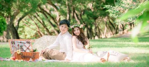 [婚紗] 野餐風輕婚紗(下)