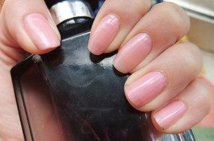 OPI指甲油試色 (NL A06)(帶膚色的嫩粉紅)