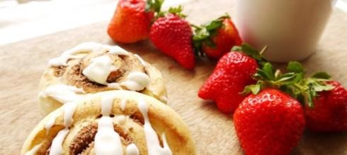 [食譜] 肉桂捲做法與奶油糖霜做法