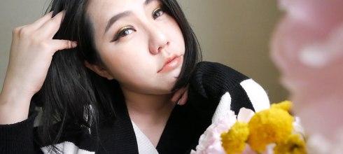 [妝容][眼影] 金黃色眼影,金黃煙燻畫法,NYX塗鴉大師多功能眼彩霜