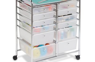Honey Can Do 12-Drawer Rolling Cart
